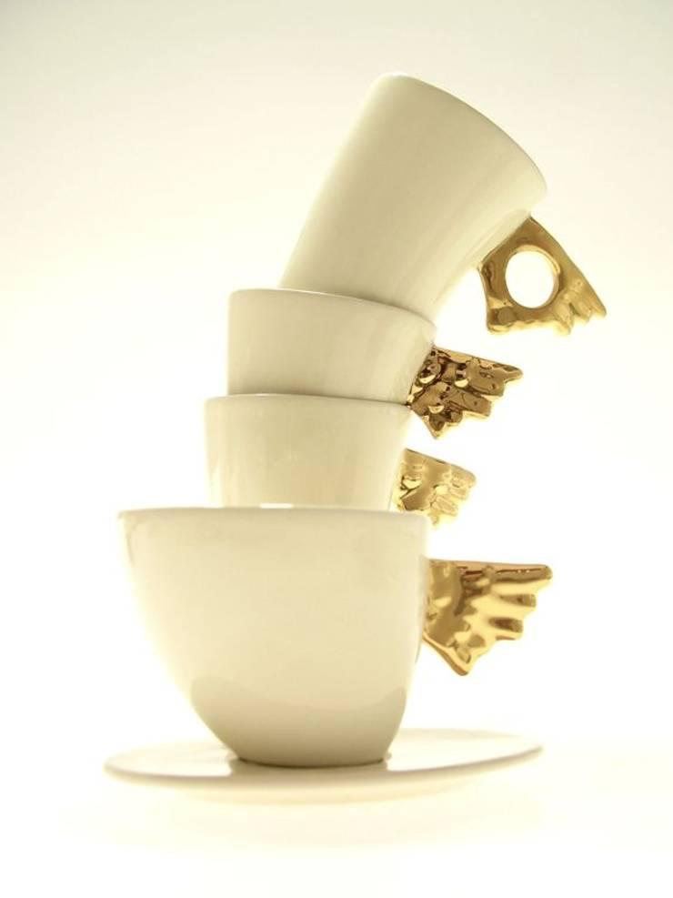 Ceramika: styl , w kategorii Kuchnia zaprojektowany przez Two People