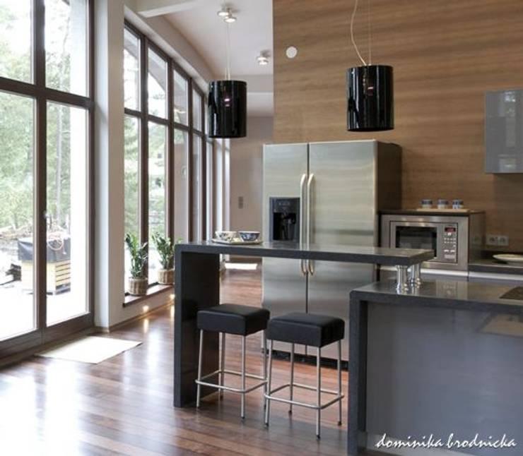 Banana House: styl , w kategorii Kuchnia zaprojektowany przez Duende Dominika Brodnicka,Nowoczesny