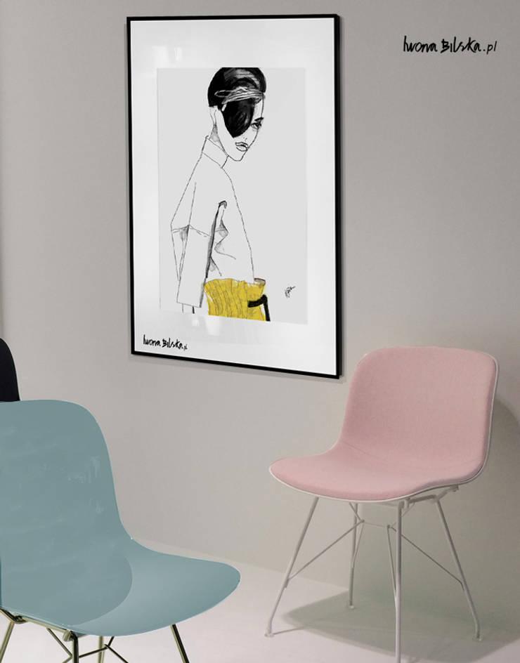 Muza: styl , w kategorii Sztuka zaprojektowany przez Iwonabilska