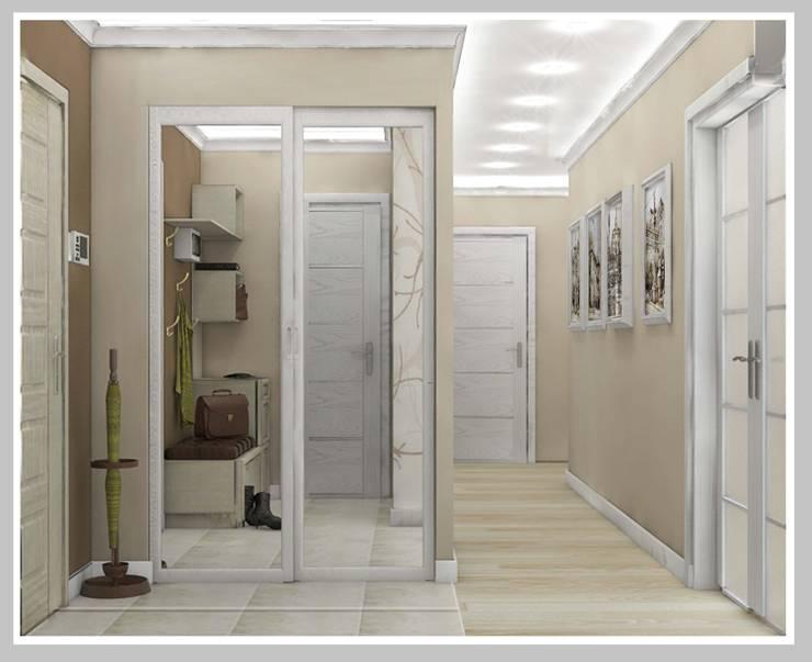 Квартира для молодой семьи: Коридор и прихожая в . Автор – Рязанова Галина