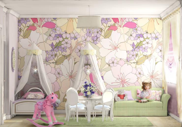 Projekty,  Pokój dziecięcy zaprojektowane przez Рязанова Галина
