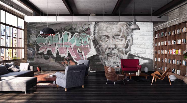 جدران وأرضيات تنفيذ Creativespace