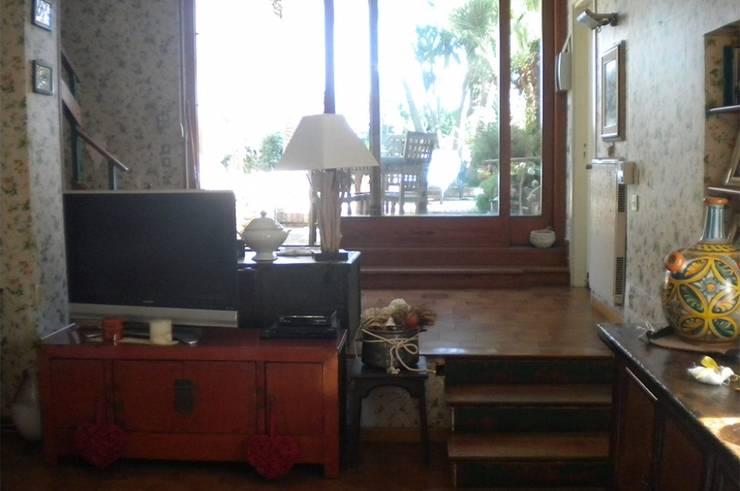 Zona Ingresso su giardino/ before:  in stile  di danielainzerillo architetto&relooker