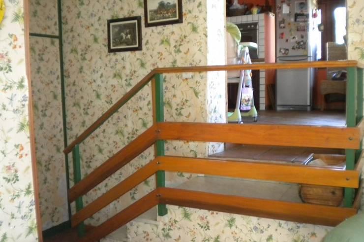 Ingresso alla zona cucina/Before:  in stile  di danielainzerillo architetto&relooker