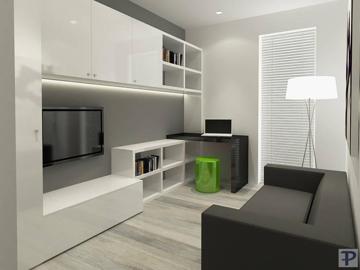 Privato : Studio in stile  di Paolo Foglini Design