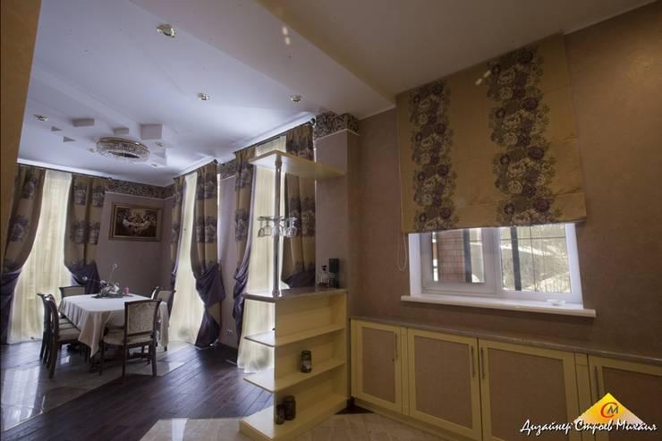 Кухня , столовая: Столовые комнаты в . Автор – Строев Михаил