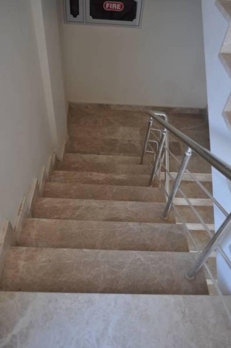 Ege Mermer Granit – Basamak Doseme Kaplama:  tarz Koridor ve Hol