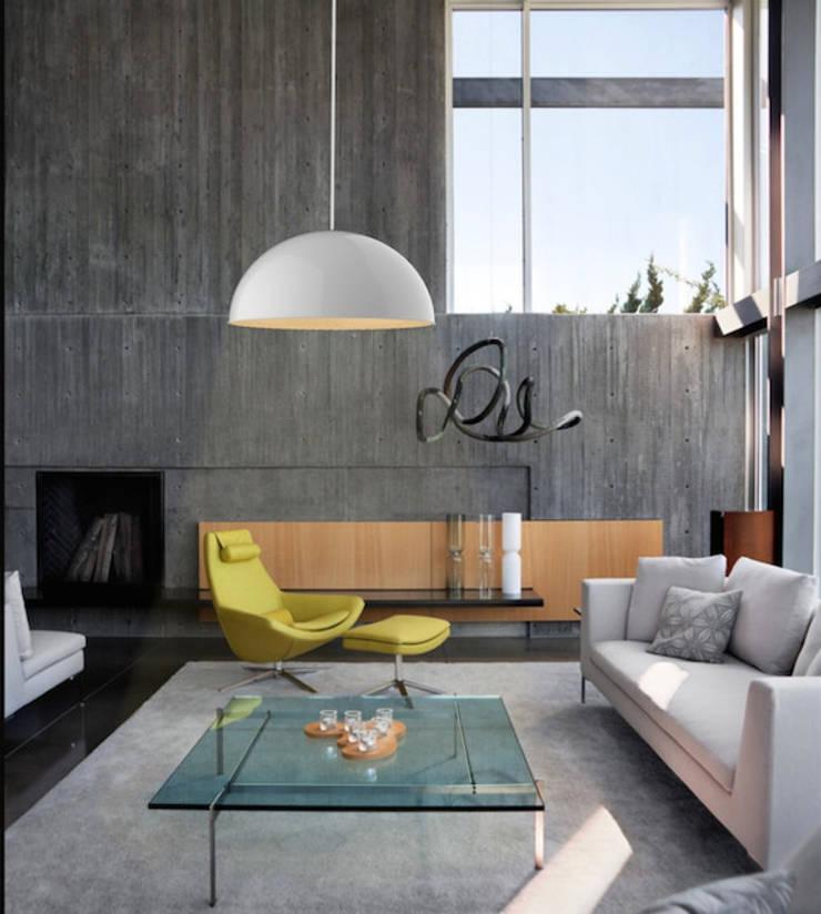 Iluminación industrial: Salas de estilo  por Co&Ca  Design