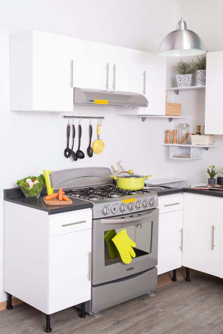 Cocina SEP-2015: Cocina de estilo  por Idea Interior