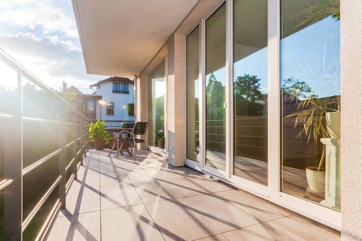Wohnhaus in Dresden: moderne Häuser von Hildebrandt Architekten