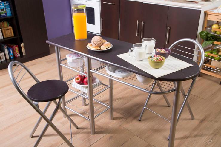 COCINA CHOCOLATE – SEP 2015: Cocina de estilo  por Idea Interior