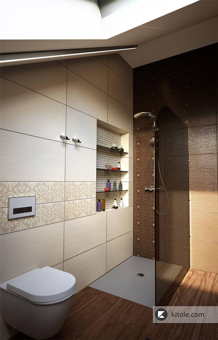 Ванная комната: Ванные комнаты в . Автор – Kitole,