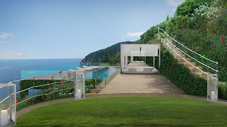 Jardins mediterrânicos por Anna Paghera s.r.l. - Green Design