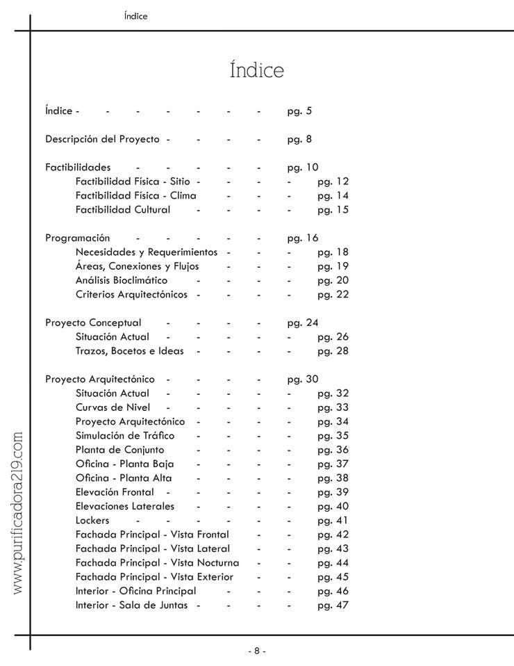 Fragmento de Libreto Impreso:  de estilo  por VIVAinteriores