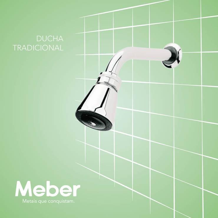 Duchas: Banheiro  por Meber Metais