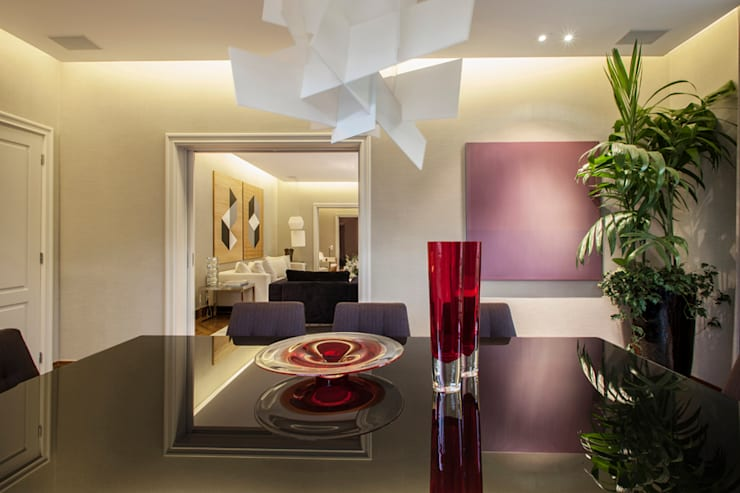 Sala de Jantar : Salas de jantar  por Deborah Basso Arquitetura&Interiores