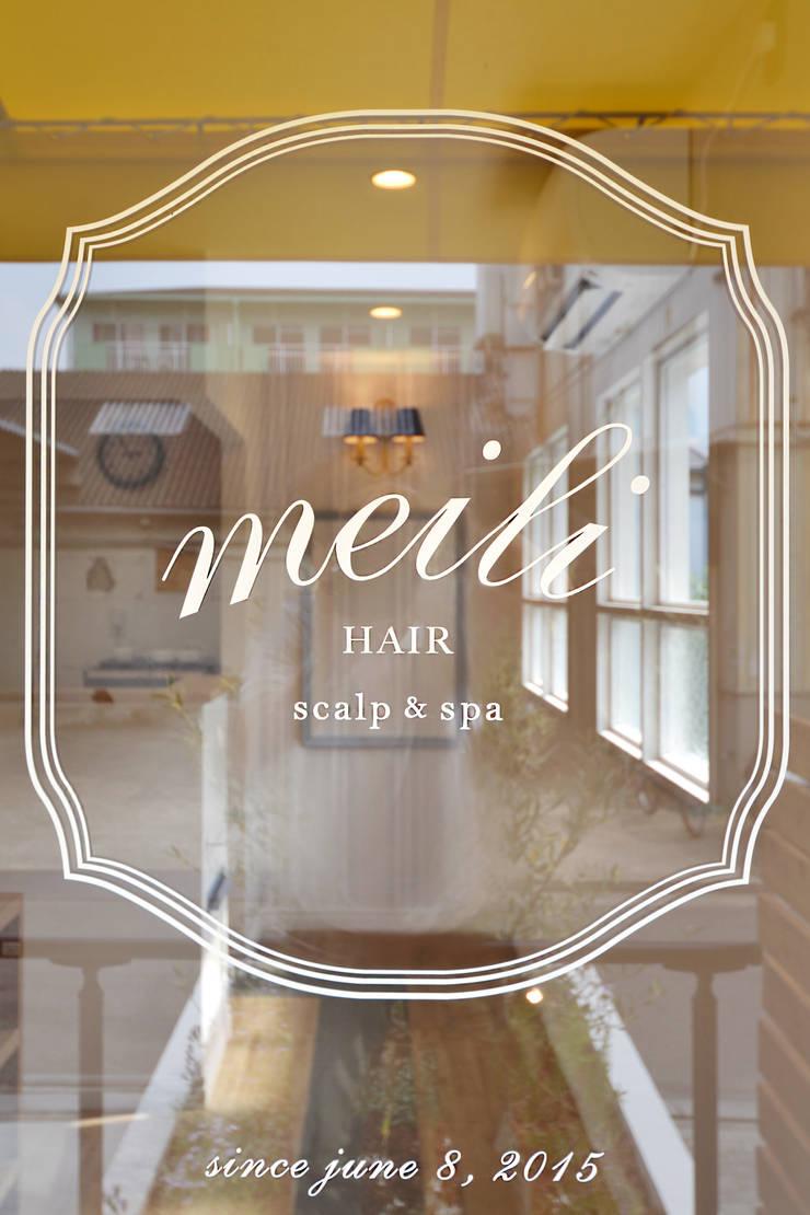 scalp & spa meili hair: TRANSFORM  株式会社シーエーティが手掛けたオフィススペース&店です。,