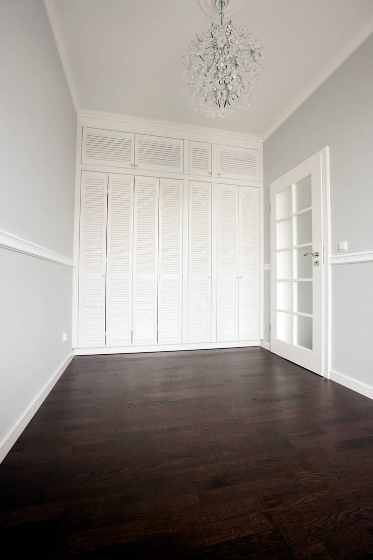 Jasnodworska - sypialnia: styl , w kategorii Sypialnia zaprojektowany przez ABU Wnętrza,Skandynawski