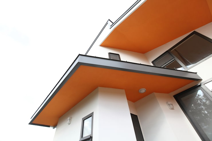 Terrace by 주택설계전문 디자인그룹 홈스타일토토