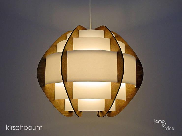 lom1 - Hängelampe Kirschbaum: skandinavische Wohnzimmer von lamp of mine