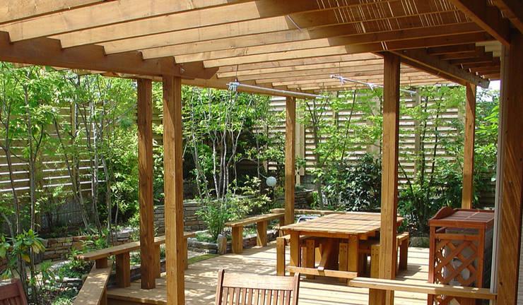 Jardin de style  par 株式会社粋の家, Éclectique