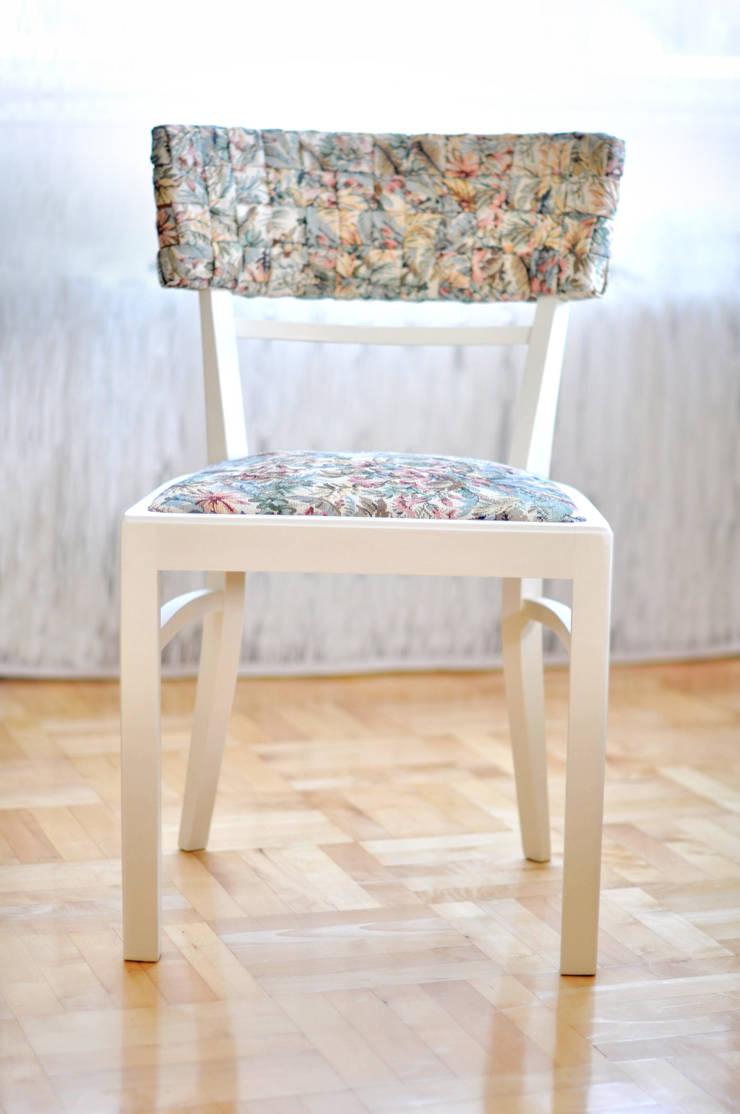 Hawaiian Musse krzesła: styl , w kategorii Jadalnia zaprojektowany przez AFABLA,