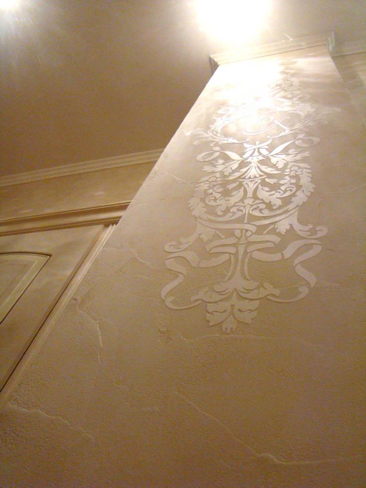 декоративная штукатурка в коридоре: Коридор и прихожая в . Автор – Золотой Век,