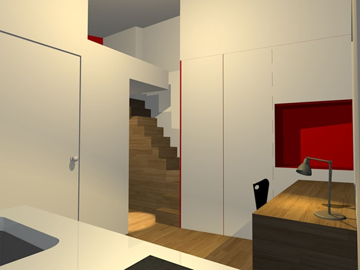 Studio : Garage / Hangar de style  par Arnaud Bouvier Design