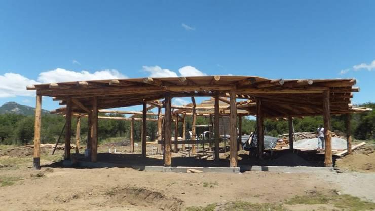 Vivienda TE: Casas de estilo  por Ecohacer Bioarquitectura y Bioconstrucción