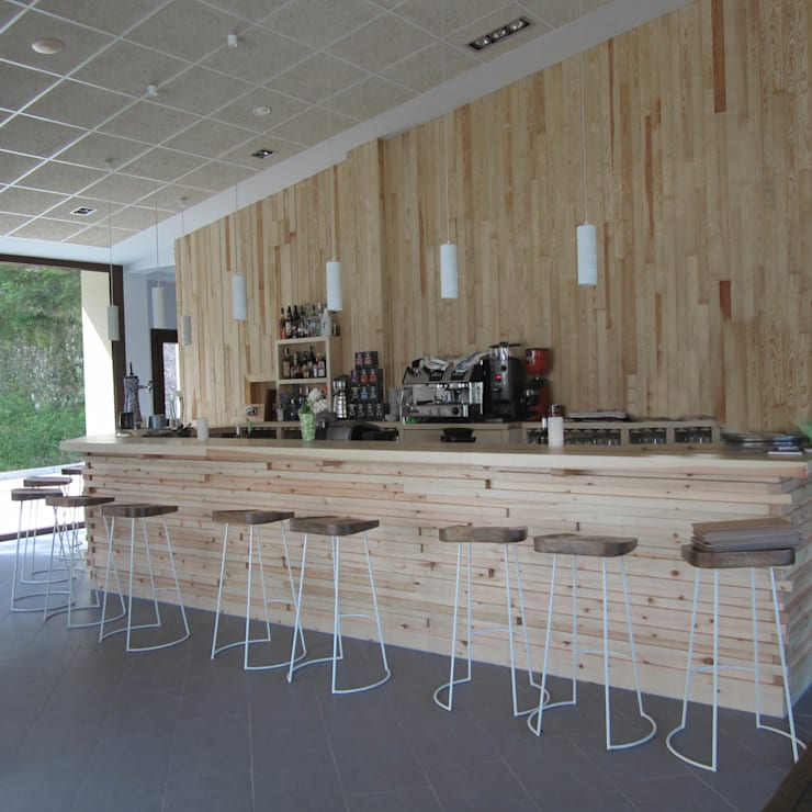 ESTUDIO ROSA ALVARADO: iskandinav tarz tarz Şarap Mahzeni