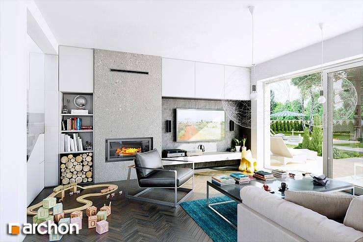 Dom w kalateach: styl , w kategorii Domy zaprojektowany przez ArchonHome.pl