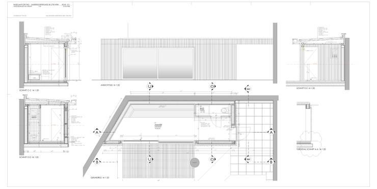 Phòng khách by Architektur Hitthaler