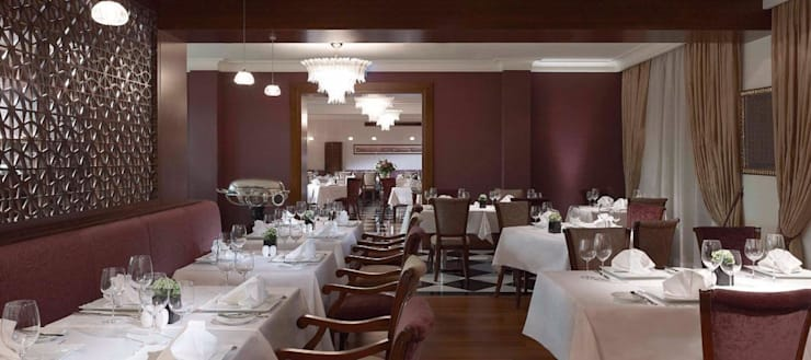 ROMANO DİZAYN – PERA PALACE BEYOĞLU: klasik tarz tarz Yemek Odası