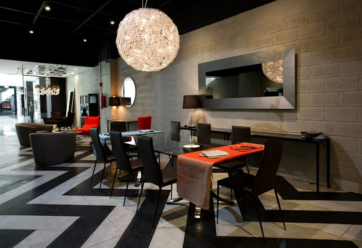 Casa Italia Boutique-Mexico City: Comedores de estilo  por Elías Arquitectura