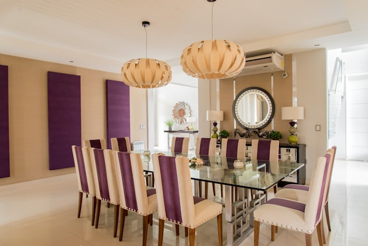 modern Dining room by Saez Sanchez. Arquitectos