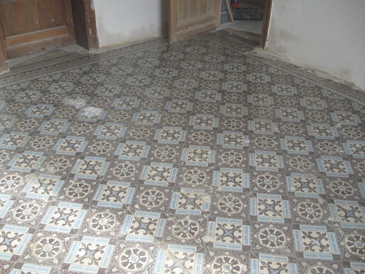 Portugese Cementtegels:  Muren & vloeren door Stuc en Stone