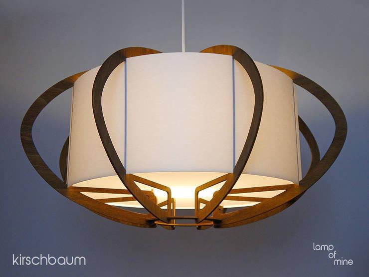 lom5L - Hängelampe Kirschbaum:  Esszimmer von lamp of mine