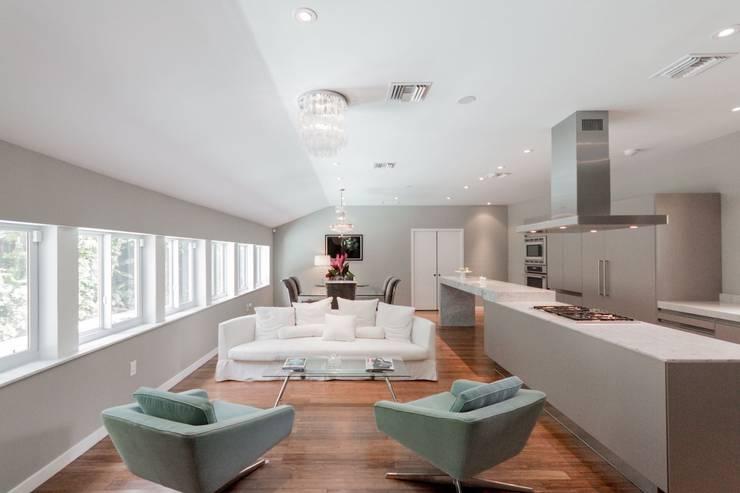 غرفة المعيشة تنفيذ Elías Arquitectura