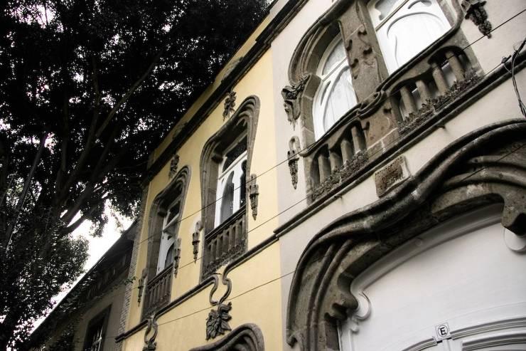 I.K. House Mexico City Casas modernas de Elías Arquitectura Moderno