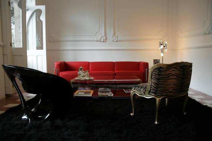 Livings de estilo  por Elías Arquitectura