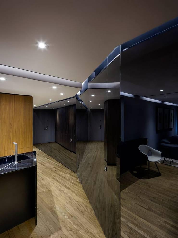 Uppern West Side Apartment-Manhatthan NYC: Salas de estilo  por Elías Arquitectura