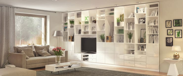 Wohnzimmermöbel nach Maß von deinSchrank.de GmbH | homify