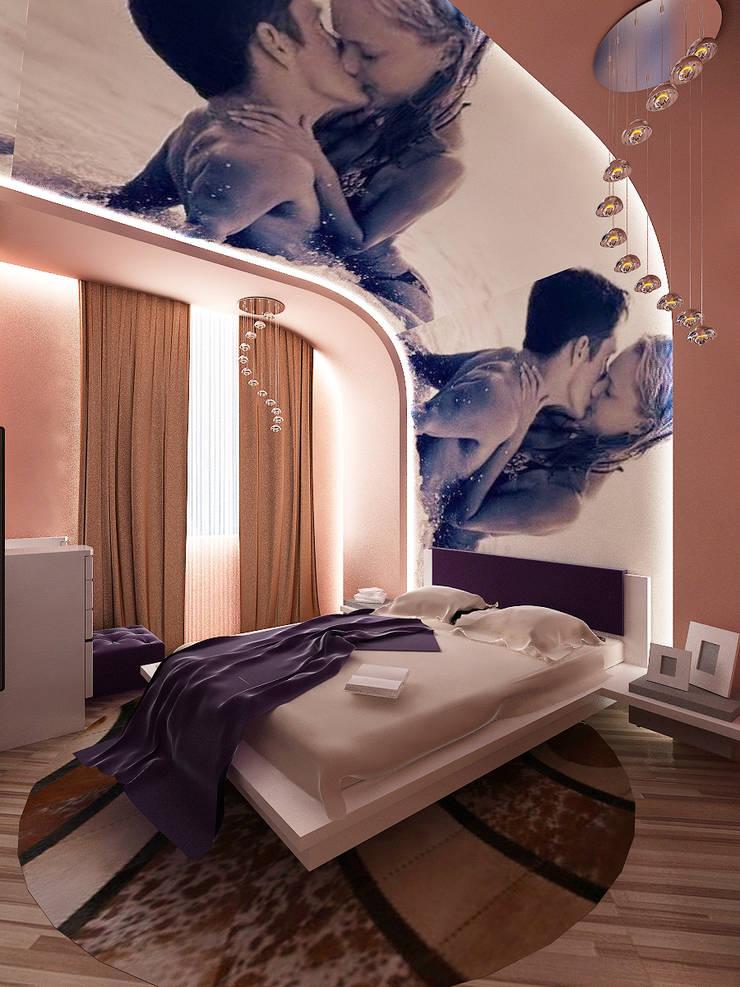 Квартира1: Спальни в . Автор – ИП Поварова Татьяна Владимировна