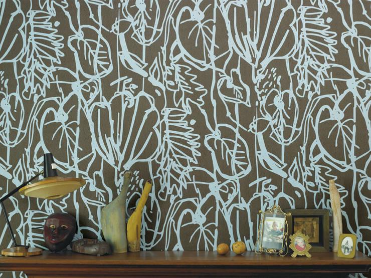 Paredes y pisos de estilo  por Jocelyn Warner