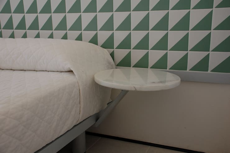 Quarto: Hotéis  por Peixoto Arquitetos Associados