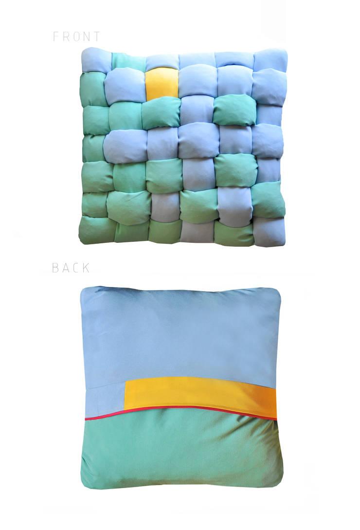 FRESHKA pillow: styl , w kategorii Salon zaprojektowany przez AFABLA