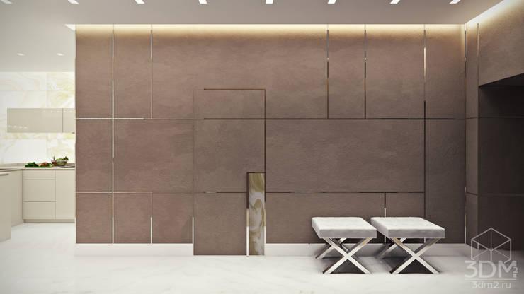 Corredores e halls de entrada  por студия визуализации и дизайна интерьера '3dm2' , Minimalista