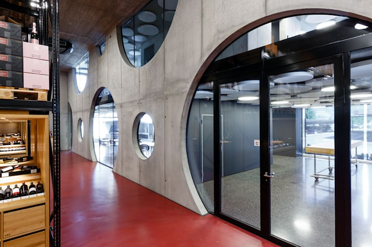 Walls by CarlosMartinez Architketen AG FH/FWB