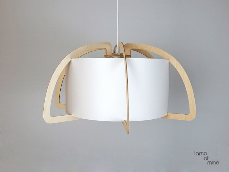 Lom6 Hangelampe Holz Von Lamp Of Mine Homify