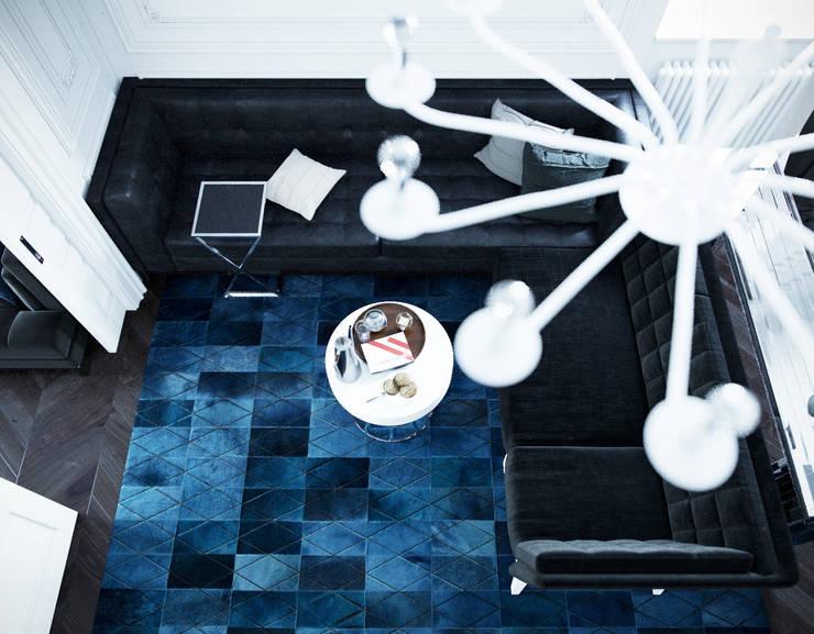 le luxe de la simplicité: Гостиная в . Автор – Dara Design